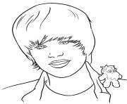 Coloriage justin bieber dessin imprimer gratuit - Justin bieber dessin ...