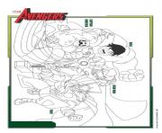 Coloriage avengers free download