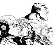 Coloriage Avengers Pictures