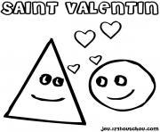 dessin saint valentin 52 dessin à colorier