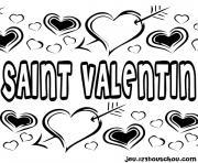 dessin saint valentin 13 dessin à colorier
