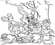 dessin paques 55 dessin à colorier