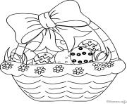 dessin paques 30 dessin à colorier