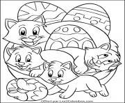 dessin paques 115 dessin à colorier