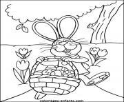 dessin paques 83 dessin à colorier
