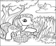 dessin paques 72 dessin à colorier