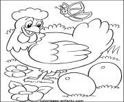 dessin paques 128 dessin à colorier