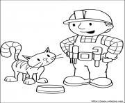 dessin bob le bricoleur 142 dessin à colorier