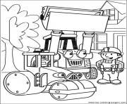 dessin bob le bricoleur 74 dessin à colorier
