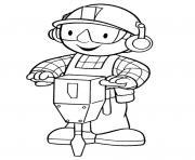 dessin bob le bricoleur 115 dessin à colorier