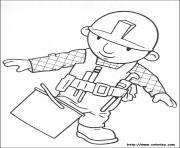 Coloriage dessin bob le bricoleur 57 dessin