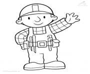 dessin bob le bricoleur 250 dessin à colorier