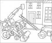 Coloriage Le Camion De Bob Le Bricoleur.Coloriage Bob Le Bricoleur A Imprimer Gratuit Sur Coloriage Info