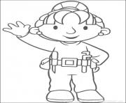 dessin bob le bricoleur 241 dessin à colorier