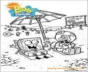 dessin bob leponge 11 dessin à colorier