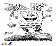 dessin bob leponge 282 dessin à colorier