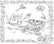 dessin bob leponge 190 dessin à colorier