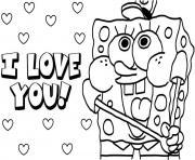 dessin bob leponge 186 dessin à colorier