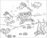 dessin bob leponge 78 dessin à colorier