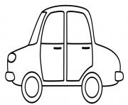 Coloriage dessin voiture enfant 29 dessin - Coloriage voiture enfant ...