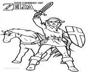 Coloriage dessin zelda 136 dessin