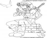 dessin zelda 19 dessin à colorier