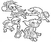 dessin zelda 78 dessin à colorier