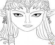 dessin zelda 41 dessin à colorier