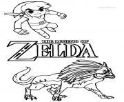 dessin zelda 45 dessin à colorier