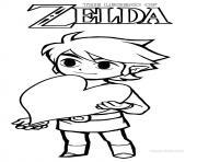 Coloriage Zelda à Imprimer Gratuit Sur Coloriageinfo