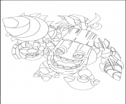 dessin skylanders 133 dessin à colorier