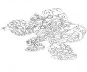 dessin skylanders 82 dessin à colorier