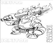 dessin skylanders 94 dessin à colorier