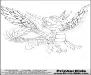 dessin skylanders 123 dessin à colorier