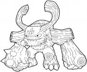 dessin skylanders 99 dessin à colorier