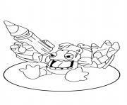 dessin skylanders 7 dessin à colorier