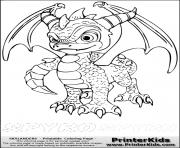 dessin skylanders 37 dessin à colorier