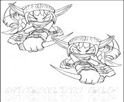 dessin skylanders 89 dessin à colorier