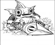 dessin skylanders 44 dessin à colorier