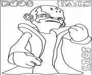 dessin skylanders 98 dessin à colorier