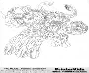 dessin skylanders 142 dessin à colorier