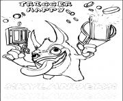 dessin skylanders 87 dessin à colorier