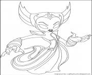 dessin skylanders 88 dessin à colorier