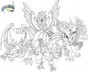 dessin skylanders 23 dessin à colorier