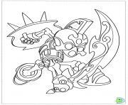 dessin skylanders 42 dessin à colorier