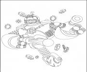 dessin skylanders 64 dessin à colorier