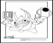 dessin skylanders 122 dessin à colorier