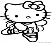 Coloriage dessin hello kitty 32