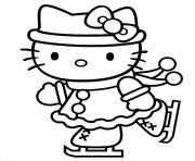 Coloriage dessin hello kitty 128