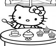 Coloriage dessin hello kitty 280